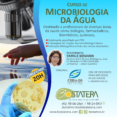 Curso de Microbiologia da Água